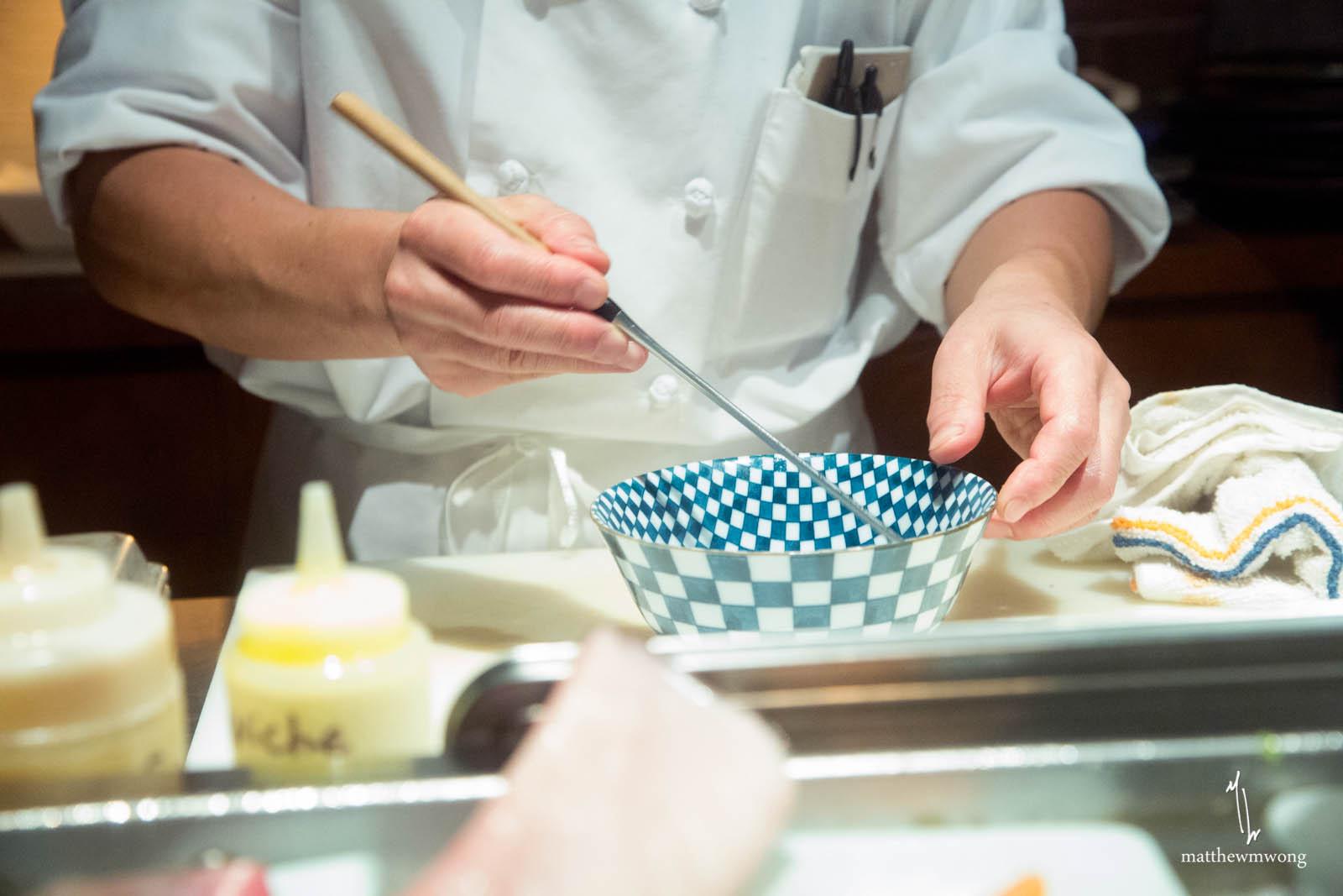 Marinade / Prep of the Next Dish