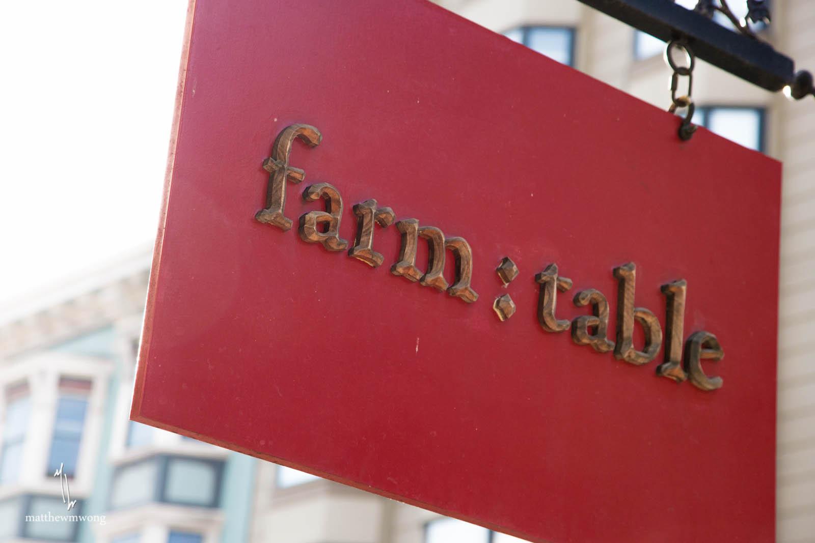 Farm : Table