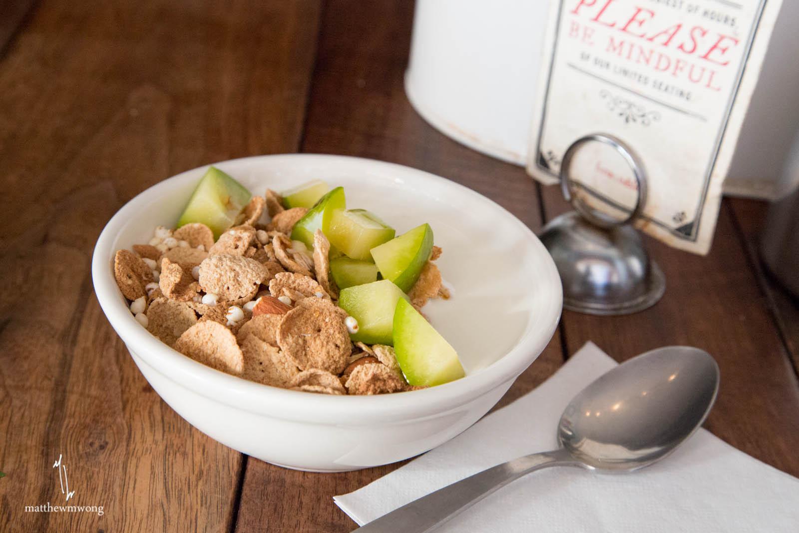 House Made Cereal - Creamy Yogurt, Honey, Fruit OTD