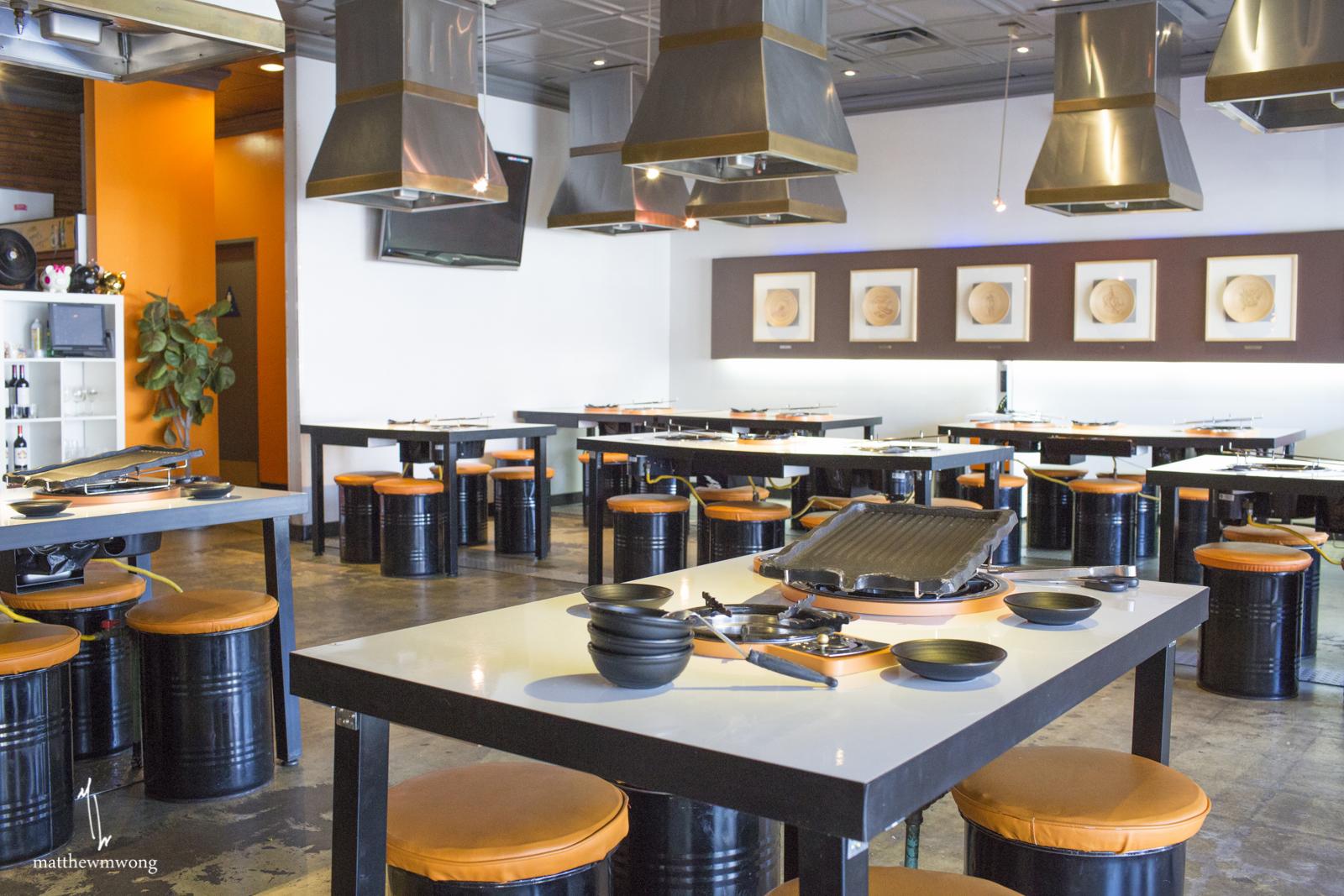 Inside eatery