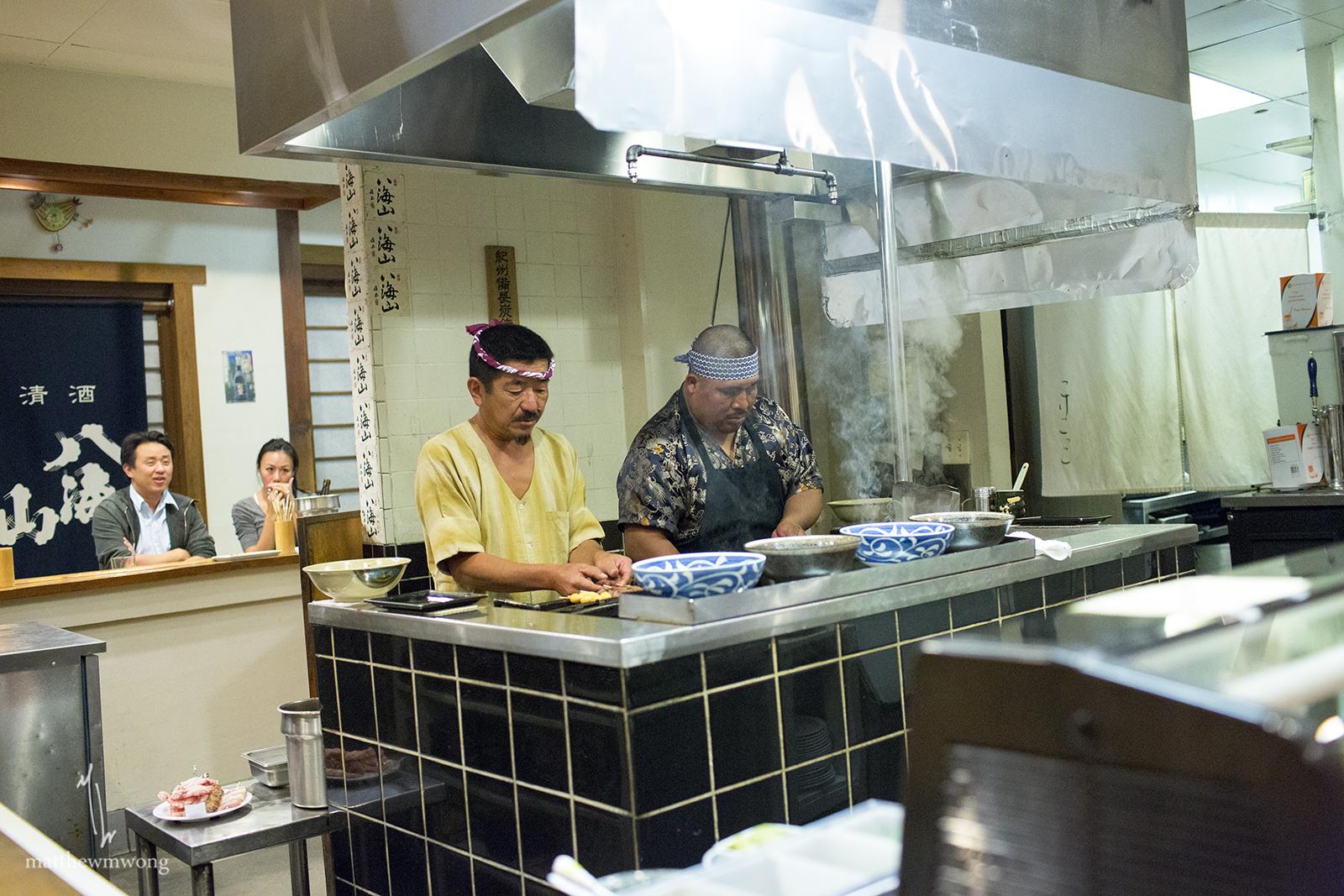 Yakitori master Tomohiro Sakata