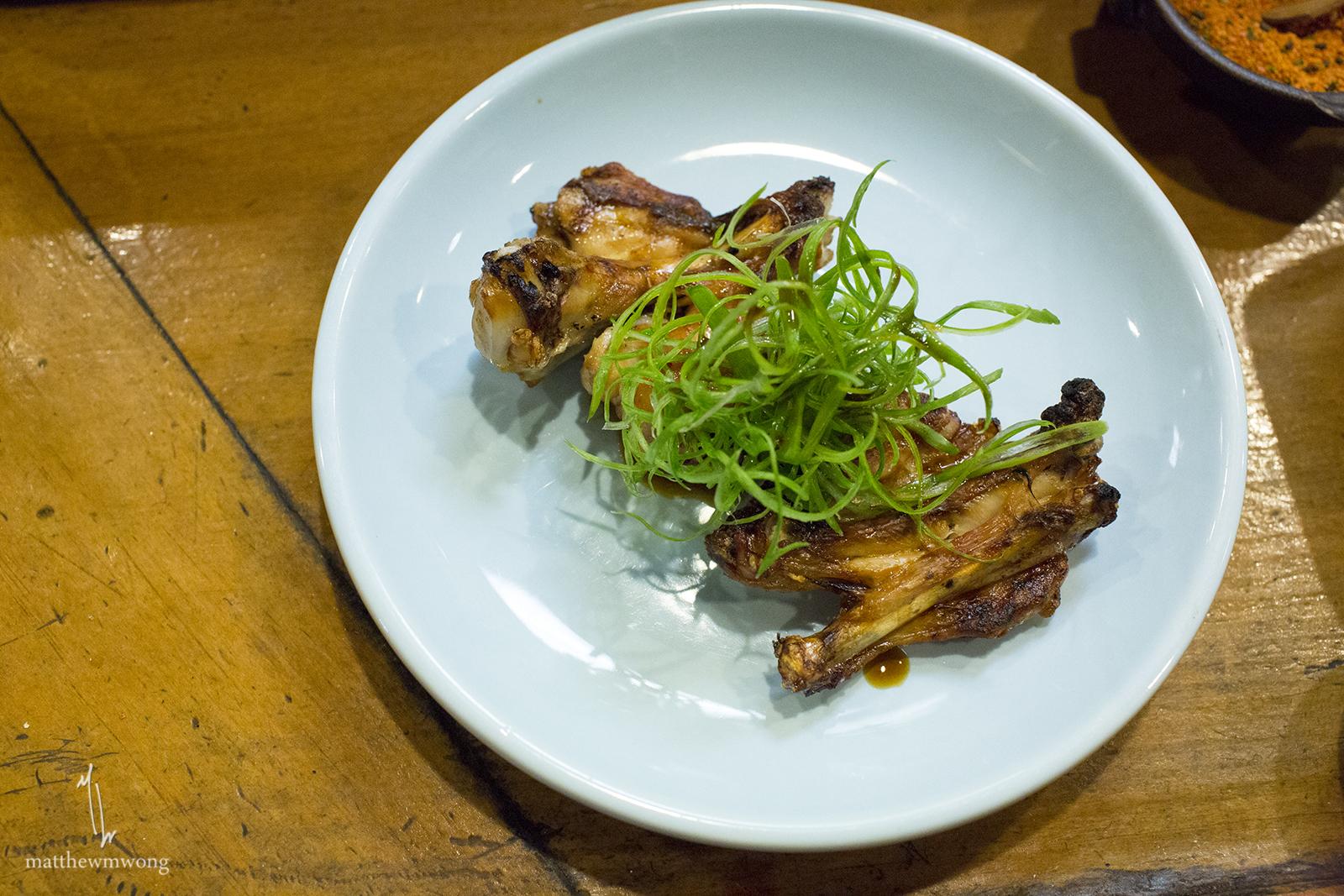 Wing Karayaki