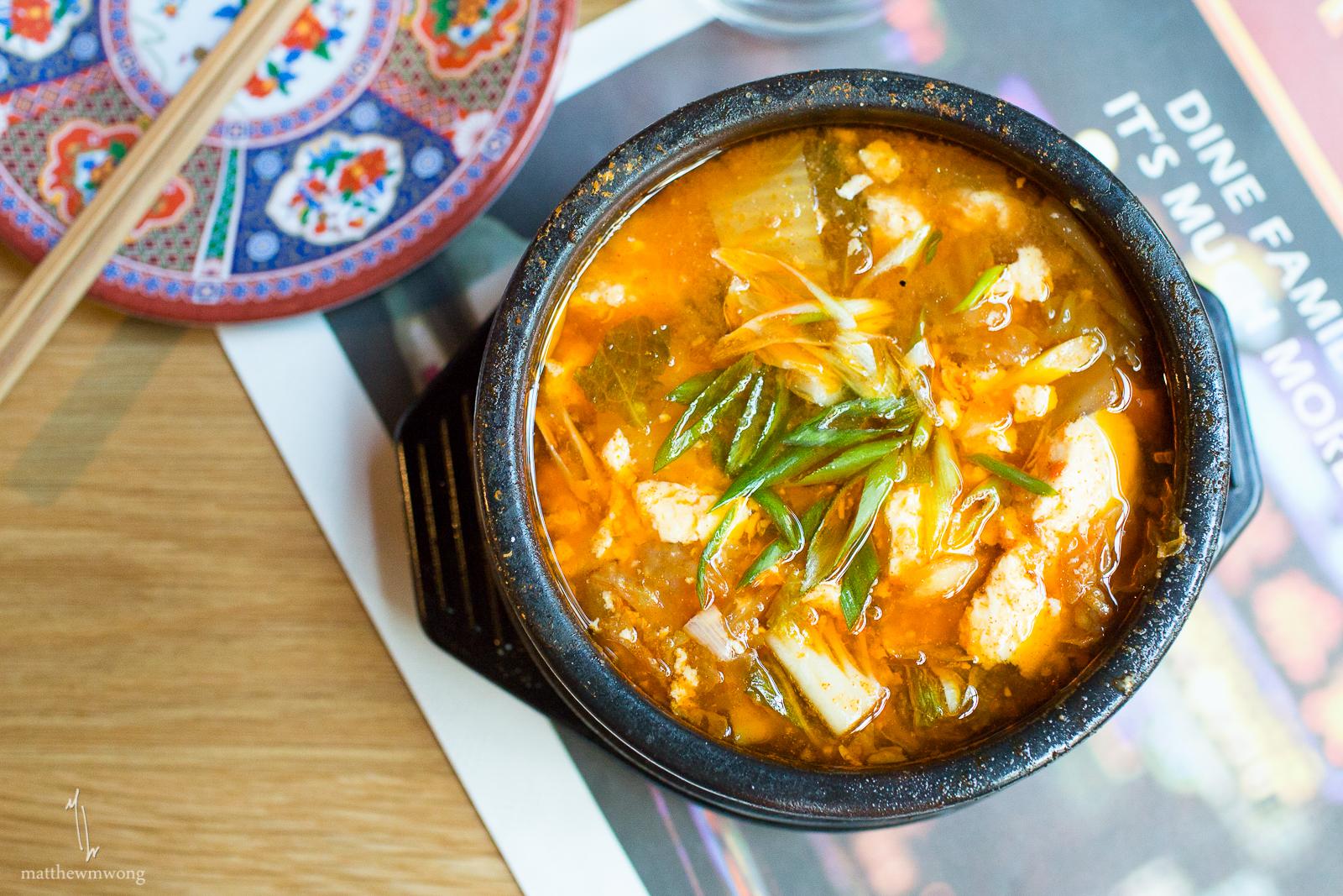 Kimchi Stew - Pork, kimchi, ginger, tofu