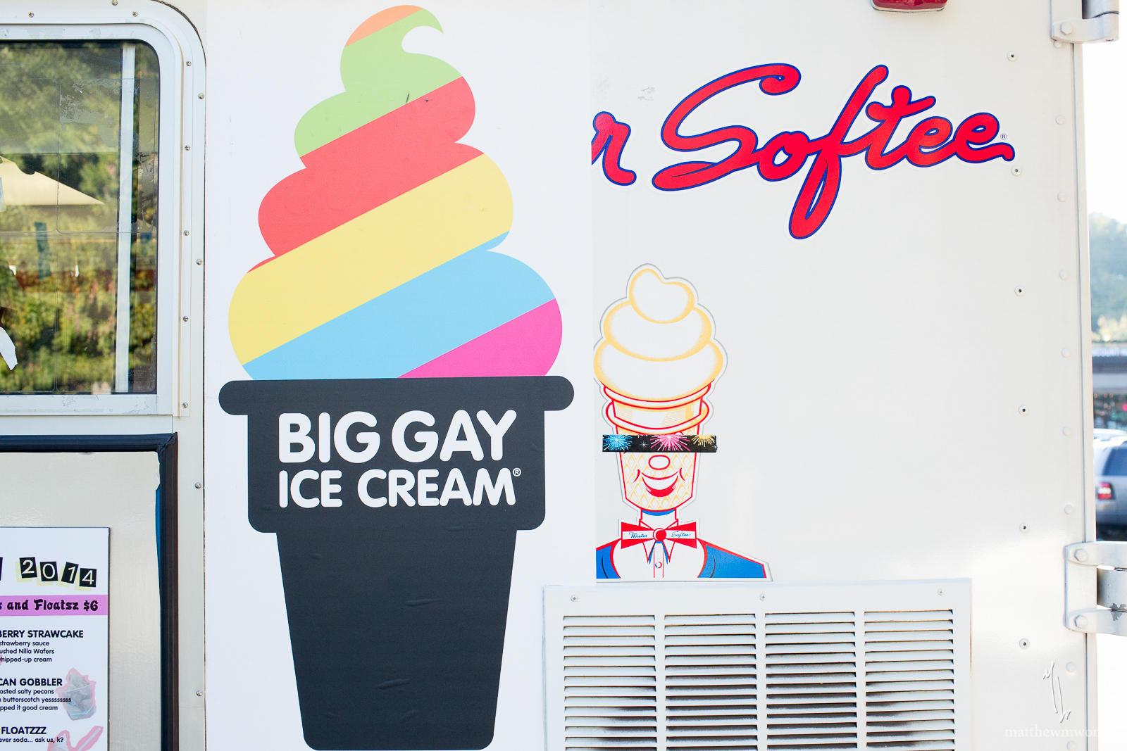 Big Gay Ice Cream, via their Southern Tour 2014, visited Atlanta Oct 20 & 21.